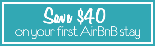 Save $40 on AirBnB