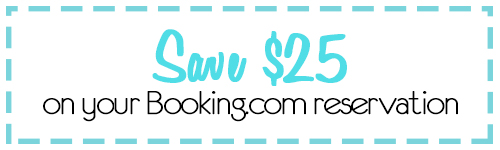 Save $25 at Booking.com